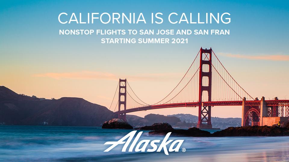 New Service - Alaska Airlines